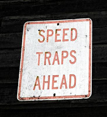 Speed Trap Art Print by Heather Provan