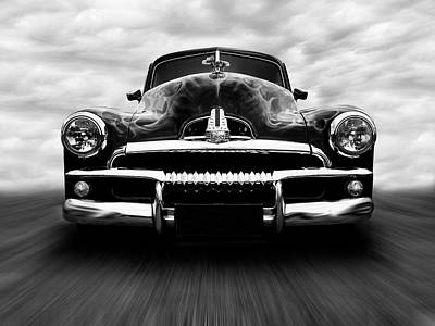 Speeding Fj Holden Art Print