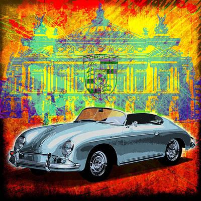 Digital Art - Speedster by Gary Grayson
