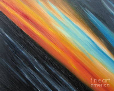 Painting - Speedy Sunset by Tiffany Davis-Rustam