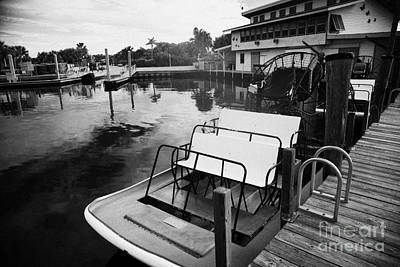 Speedys Airboat Rides In Everglades City Florida Print by Joe Fox