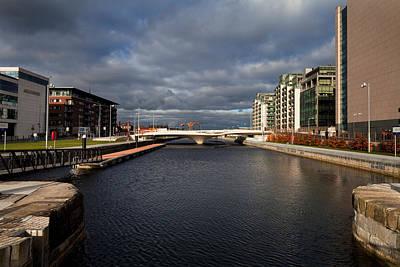 Spencer Dock , Dublin, Ireland Art Print