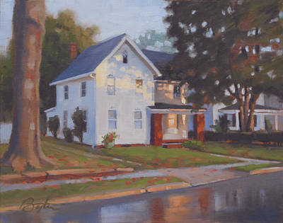 Ohio Painting - Spencer House by Todd Baxter