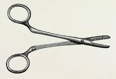 Spencer Wellss Artery Forceps, Medical Equipment Art Print by Litz Collection