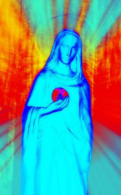 Mother Of Jesus Digital Art - Speranza V by Aurelio Zucco