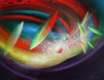Sphere B12 Art Print by Drazen Pavlovic