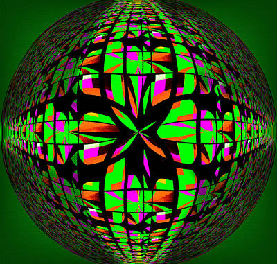 Modernity Digital Art - Sphere Of Influence Vii by Aurelio Zucco