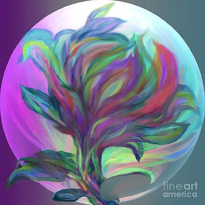Digital Art - Sphere by Ursula Freer