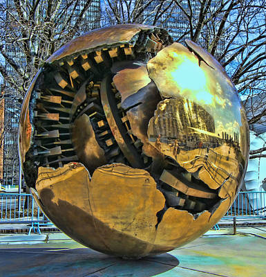 Photograph - Sphere Within A Sphere by Allen Beatty