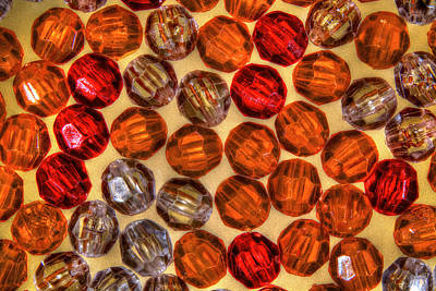 Photograph - Spheres Of Beads by Richard J Cassato