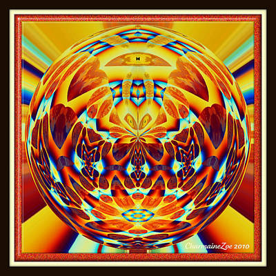 Digital Art - Spherical  Art No 11 by Charmaine Zoe
