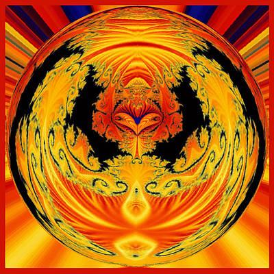 Digital Art - Spherical Art No 2 by Charmaine Zoe