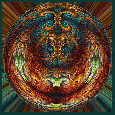 Digital Art - Spherical Art No 3 by Charmaine Zoe