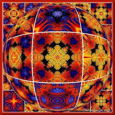 Photograph - Spherical Art No 8 by Charmaine Zoe