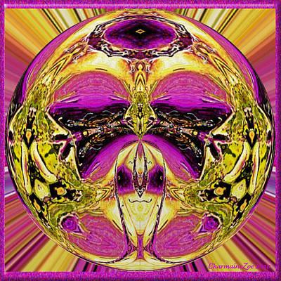 Digital Art - Spherical Art No 9 by Charmaine Zoe