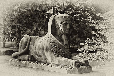 Sphinx Digital Art - Sphinx At St Mary's Ambler by Bill Cannon