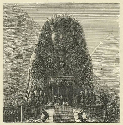Alma Drawing - Sphinx, Lawrence Alma Tadema by Artokoloro