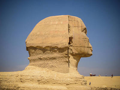 Photograph - Sphinx Profile by Anthony Doudt