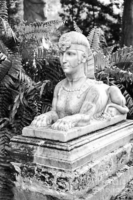 Eyzen Medina Photograph - Sphinx - Vizcaya Gardens by Eyzen M Kim