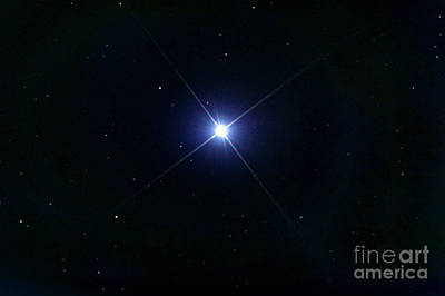 Virgo Photograph - Spica The Brightest Star In Virgo by John Chumack