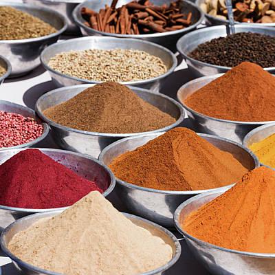 Photograph - Spice Market by Hadynyah