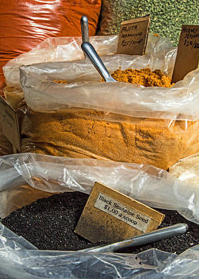 Photograph - Spices by Deb Buchanan