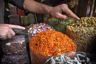 Photograph - Spices Dubai by John Swartz