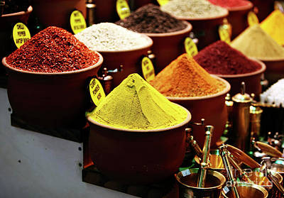 Photograph - Spices by John Rizzuto