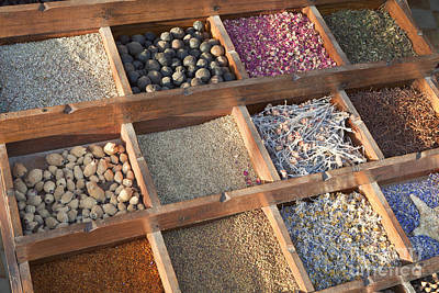 Spices Print by Roberto Morgenthaler