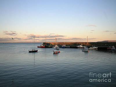 Spiddal Photograph - Spiddal Pier by Lesley O' Farrell