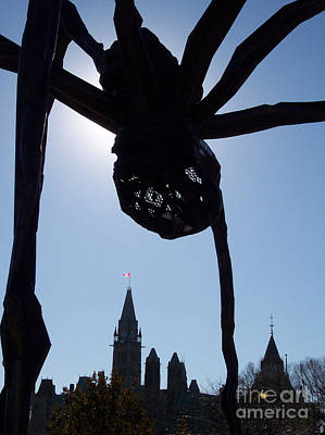 Spider Attacks Parliament Art Print by First Star Art