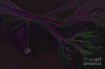 Spider Branch By Jrr Art Print by First Star Art