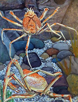 Spider Crabs Original by Patricia Pasbrig