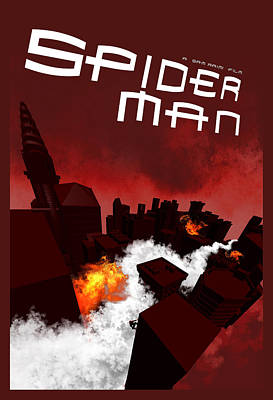 Spider-man 1 Alternative Poster Art Print by Edgar Ascensao