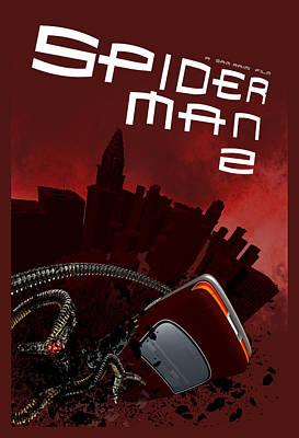 Spider-man 2 Alternative Poster Art Print by Edgar Ascensao