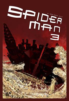 Spider-man 3 Alternative Poster Art Print by Edgar Ascensao