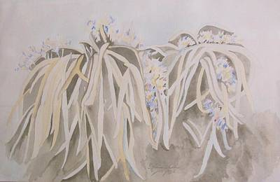Painting - Spider Plants by Esther Newman-Cohen