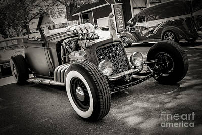 Rat Rod Digital Art - Spider Rat Rod by Perry Webster