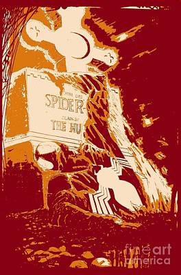 Spider Resurrection Poster Art Print by Justin Moore