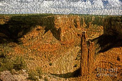 Photograph - Spider Rock by Paul W Faust -  Impressions of Light