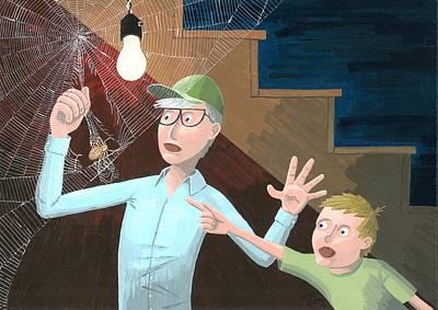 Spider Web Original by Drisdan