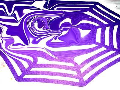Etc. Digital Art - Spider Web by HollyWood Creation By linda zanini
