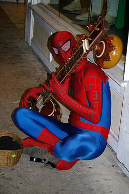 Photograph - Spiderman's Sitar by Greg Graham