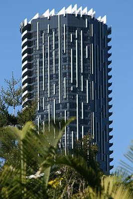 Photograph - Spike Building In Brisbane City by Phoenix De Vries