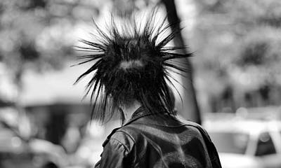 Photograph - Spiked Hair by Douglas Pike