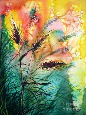 Painting - Spikes by Zaira Dzhaubaeva