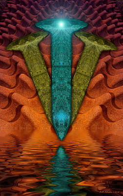 Photograph - Spikewater by WB Johnston