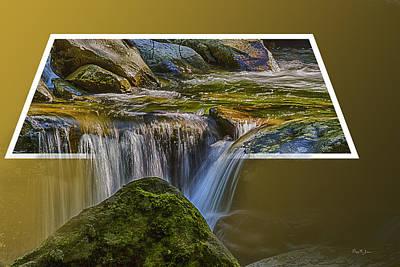 Photograph - Landscape - Mountain - Spillover  by Barry Jones