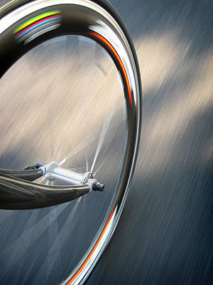 Bike Photograph - Spin by Jeff Klingler