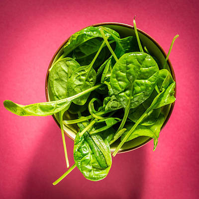 Photograph - Spinach by Philippe Garo
